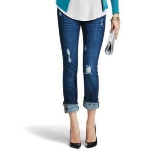 CAbi Slim Boyfriend Distressed Jeans Style 3045